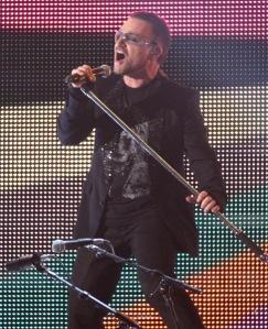 Bono live in 09