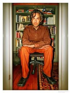 Michael Chabon from dust jacket of Manhood for Amateurs